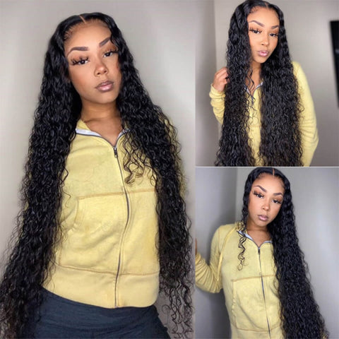 30 inch Curly Human Hair Wig.