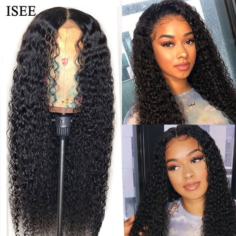 Lace Front Kinky Curly Wig.