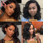 Bob' s 13x4 Short Body Wave, Lace Front Wig