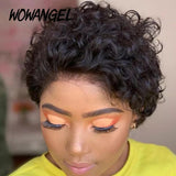 Wowangel Pixie Cut Preplucked Wig.