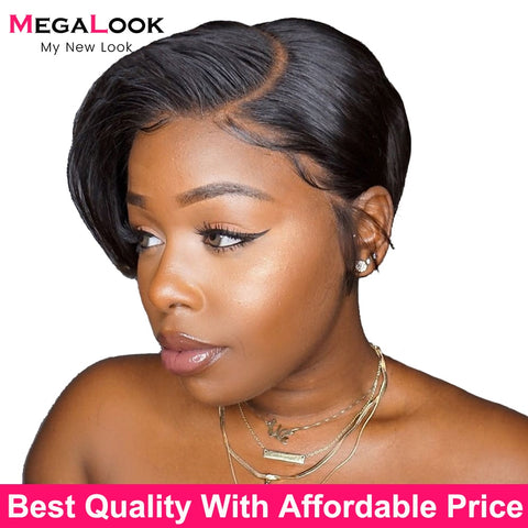 Brazilian Straight Lace Front Wig.