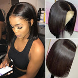 Remy 4x4 Lace Front Wig With a Closure.