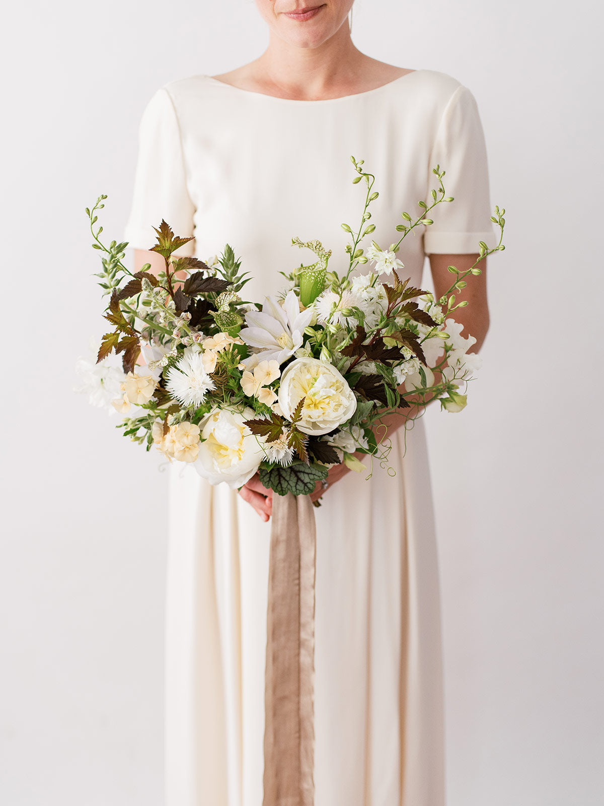 Neutral Bridal Bouquet