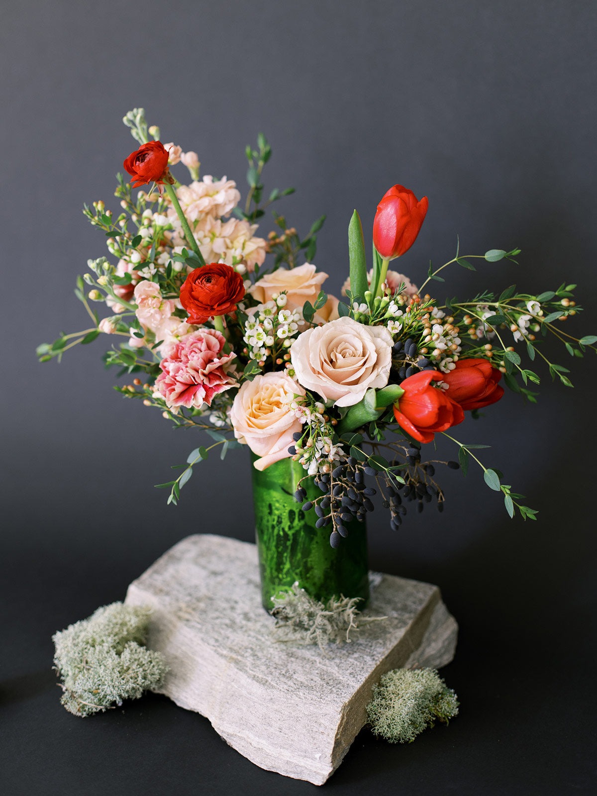 Valentine's Day Arrangement - Ruby
