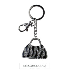 Llavero Cartera Fashion Plata