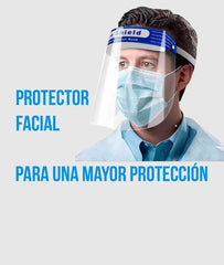 Pack 10 unid.Protector Facial