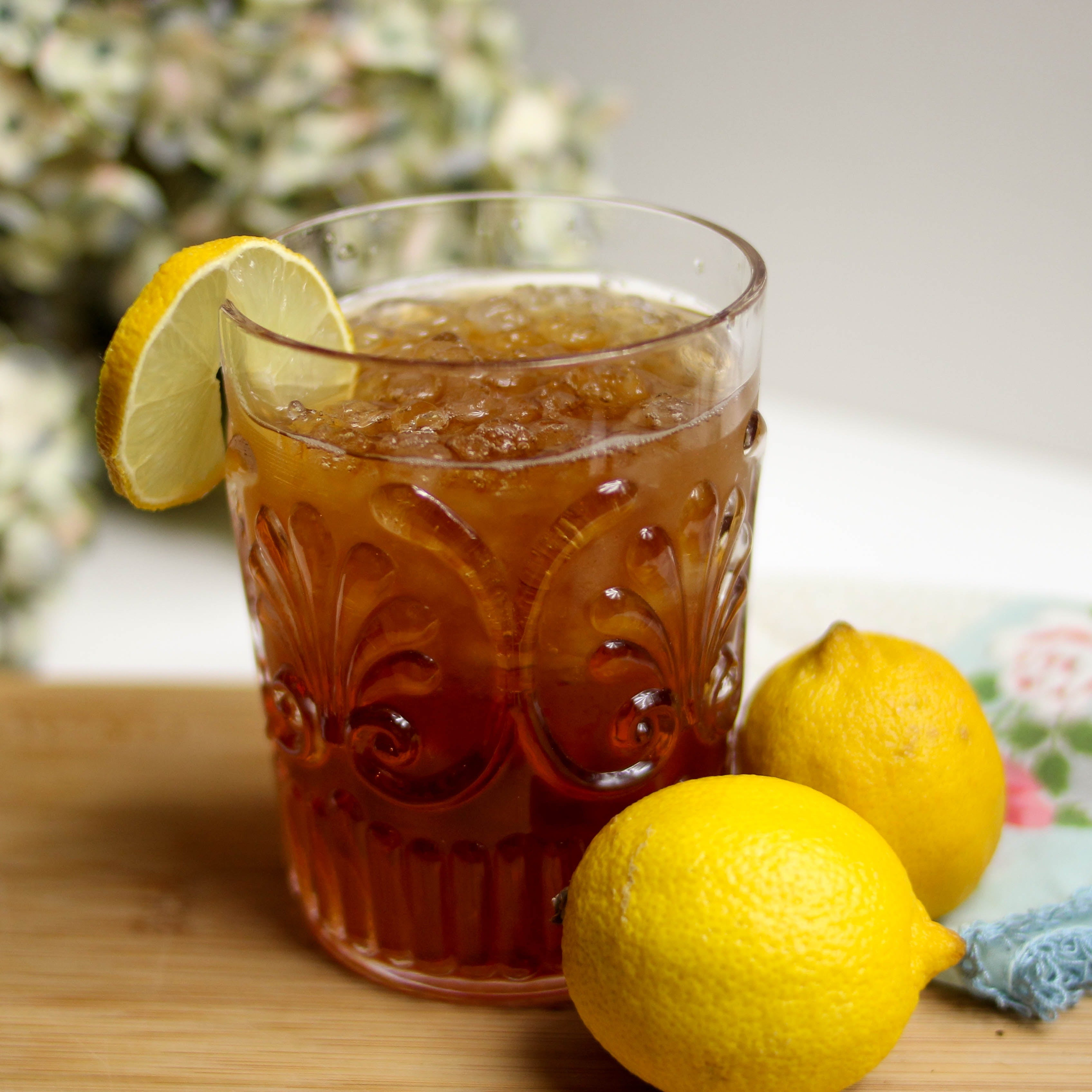 Ginger Lemon Herbal Drink - Rich in antioxidants