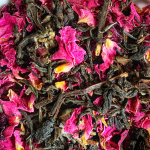 Darjeeling Rose Oolong Tea - good for weight  loss 100% natural ingredients (Bestseller)