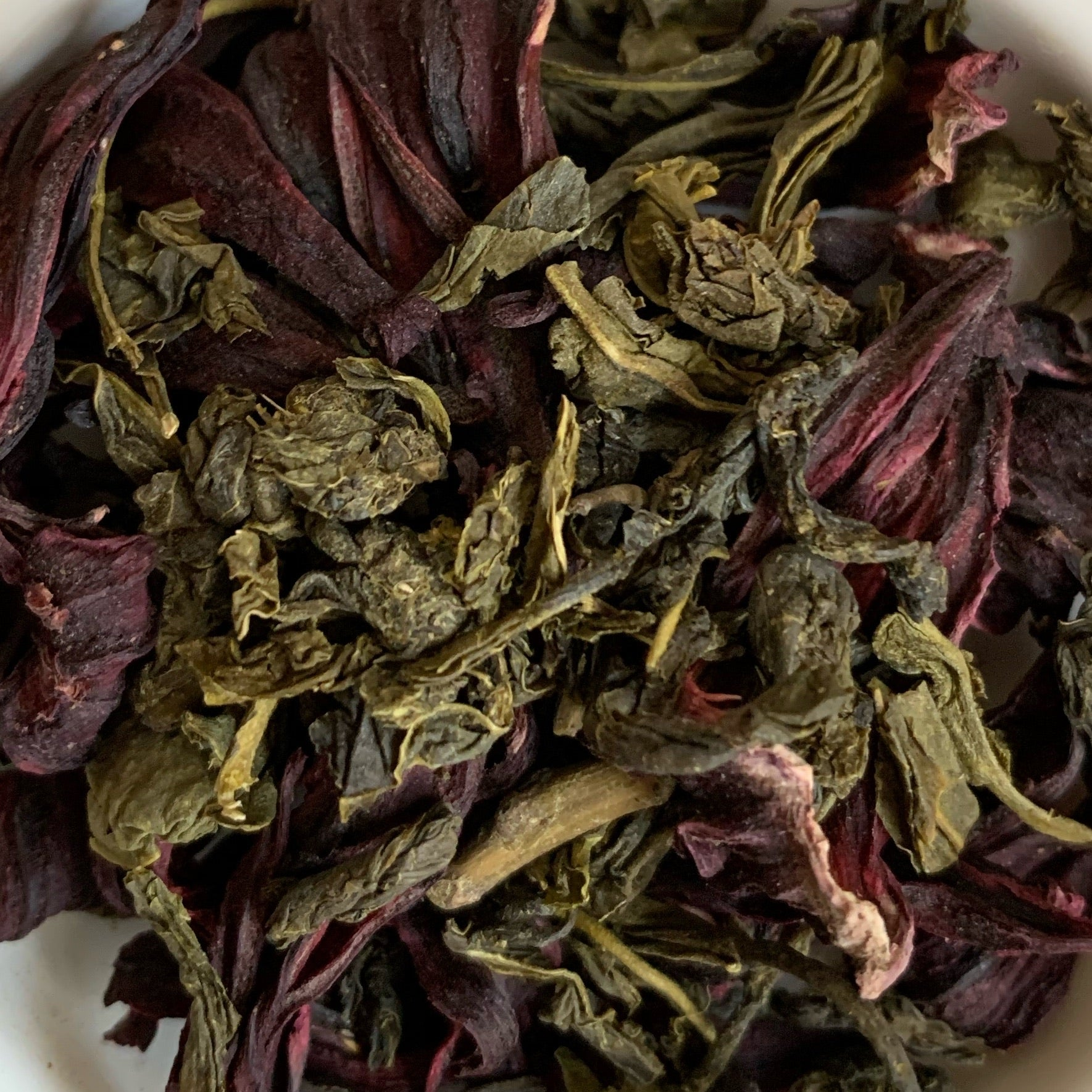 Hibiscus Green Tea - Good for glowing skin & healthy body