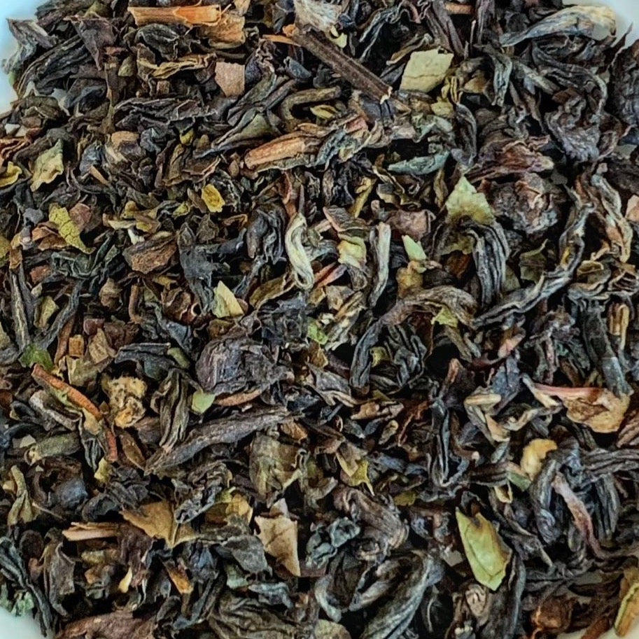 Darjeeling Black Leaf Tea - Add unlimited herbs and spices