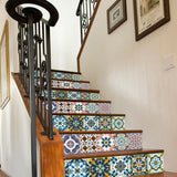 Tile Style Stair Sticker