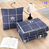 2-IN-1 Sofa Blanket / Pillow