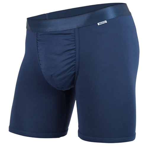 MENS CLASSIC BOXER BRIEFS: NAVY