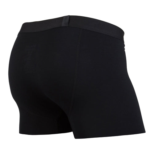 CLASSICS TRUNK: BLACK/BLACK | Trunk Boxer Brief