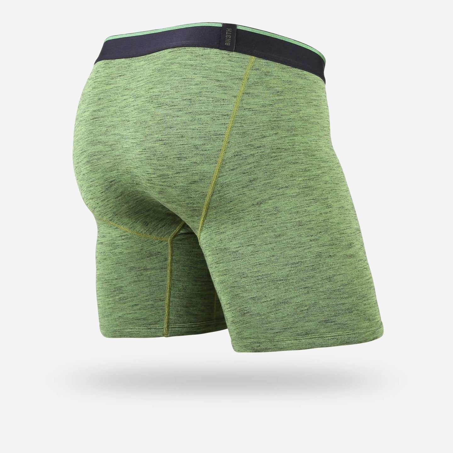 MENS CLASSIC BOXER BRIEF: HEATHER GREEN
