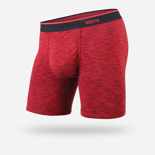MENS CLASSIC BOXER BRIEF: HEATHER RED