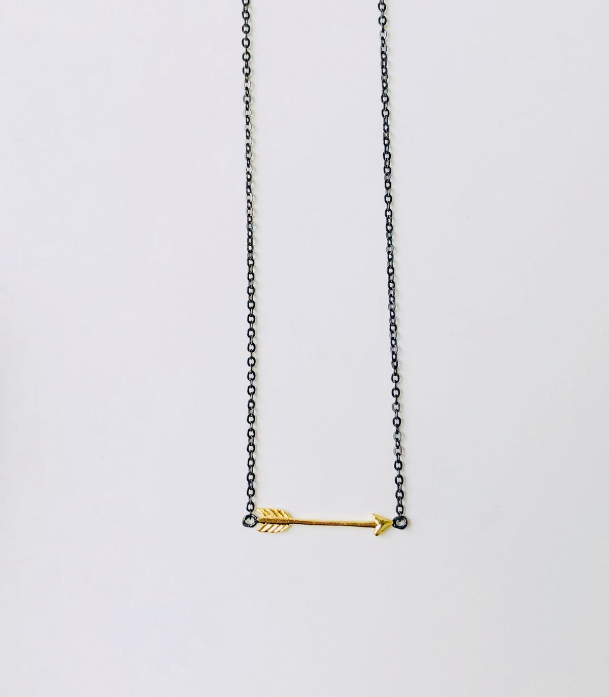ARROW MIX METAL NECKLACE