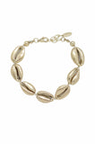 Seven Seas 18k Gold Plated Shell Bracelet