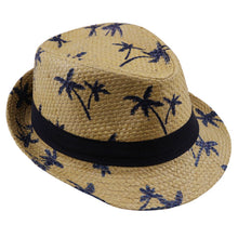 Kids Fashion Palm Tree Fedora