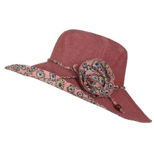 Foldable Flower Sun Hat