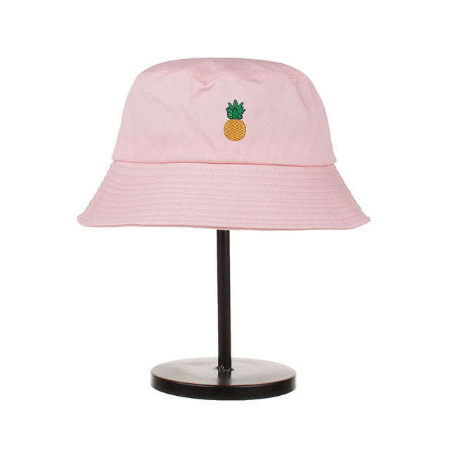 Bucket Hat withSubtl Fruit Accent