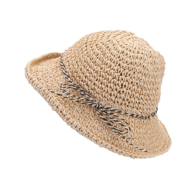 Foldable Weave Straw Hat