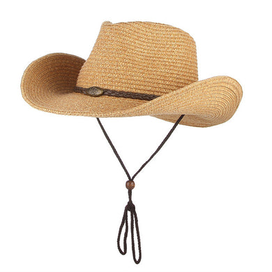 Western Hat with Chin Strap