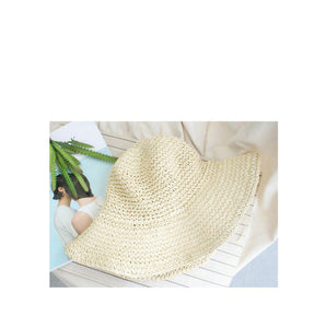 Elegant Ladies Raffia Sun Hat