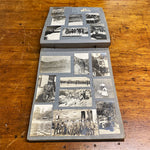 Old Photo Album Antique Photo Album from Early 1900s - Indian Motorcycle - Car Racing - Railroad Photography - Camping - Military - 138 Photographs