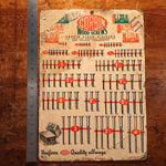 Corbin Hardware Double Sided Lithograph | 1950s?