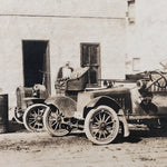 Antique Photograph of Mechanic Shop from 1917