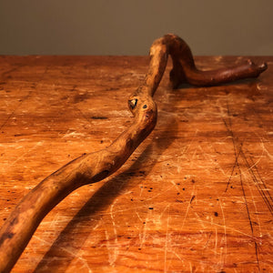 Antique Folk Art Walking Cane from Forest Service | 1933