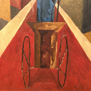 Antique Cubist Painting from 1930s | Marshall Field's Estate