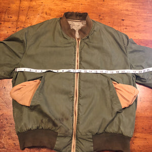 Chest Measurement of Authentic WW2 Tanker Jacket