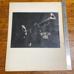 Rare Jazz Photograph for WMIN Radio in 1930s Minneapolis