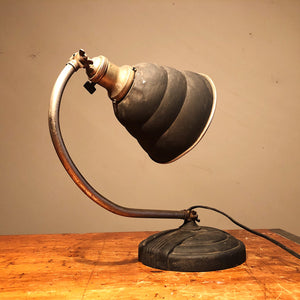 Vintage Industrial Articulating Desk Lamp - General Electric - Rare Art Deco Light - Decor - Unusual Weird