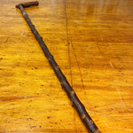 Antique Irish Blackthorn Shillelagh Walking Cane | Early 1900s?