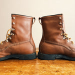 Sideview of Vintage Hunting Boots Custom Made in the USA