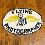 Rare WW1 Military Patches Flying Photographer - Set of 2 - Camera and Wings - Aerial Photography Patch World War 1 - Collectibles - Unusual