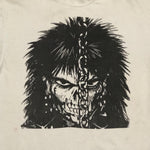 Vintage Punk Goth T-Shirt from the 90s - XL - The Crow Comic Influence - James O'Barr - Hanes Beefy-T Tag - Skull Figure
