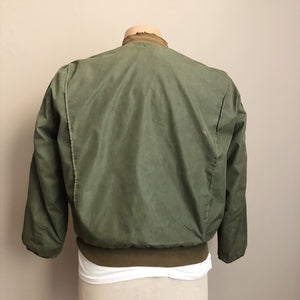 Back view of Authentic WW2 Tanker Jacket