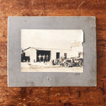 Antique Photograph of Mechanic Shop from 1917 - Early 1900s Auto Photography - Greaser Culture - Denim Workwear