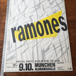 Rare Ramones Concert Poster from Munich Germany 1987 - Punk Rock