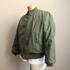 Right side view of Authentic WW2 Tanker Jacket
