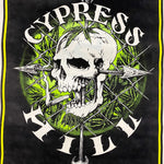 Cypress HIll Blacklight Poster from 1995 - Rare 90s Hip Hop Posters - Skull and Arrow - Cool Underground Wall Art - Insane in the Membrane