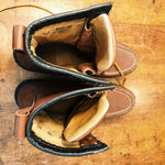 Inside Vintage Hunting Boots Custom Made in the USA