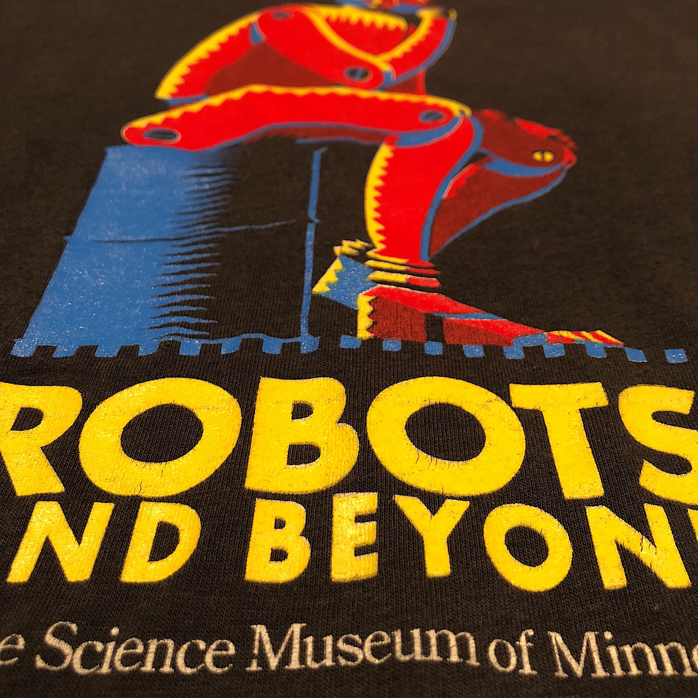 Robot T-Shirt from Science Museum Exhibition in 1988 | XL