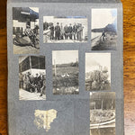 Antique Photo Album from Early 1900s | Motorcycle and Car Racing