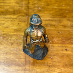 Scuba Diver Bronze Sculpture | 1973 Signed by Mystery Artist