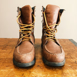 Front view Vintage Hunting Boots Custom Made in the USA